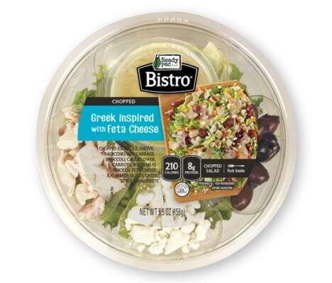 Ready-to-Eat Greek Salad Kits