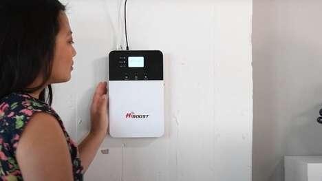 Telecom Signal-Boosting Systems