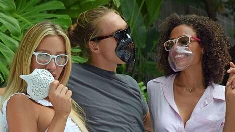Eyewear-Paired Face Masks
