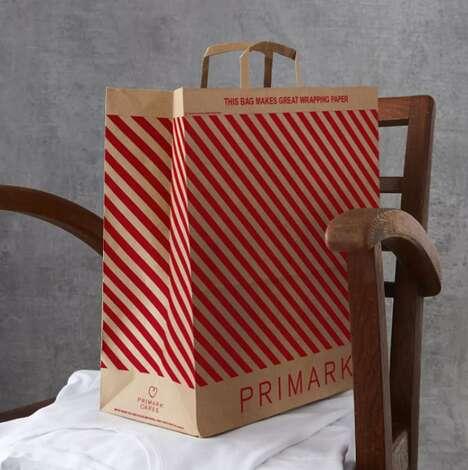 Gift Wrap Shopping Bags