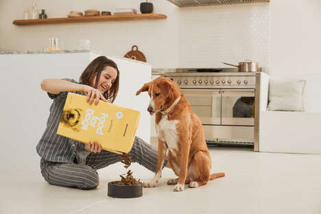 Cereal-Inspired Pet Food Packaging