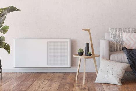 Stylish Air-Purifying Radiators