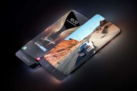 Immersive All-Display Smartphones