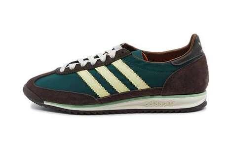 Heritage-Honoring Textural Sneakers