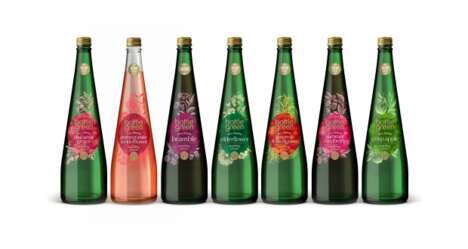 Chromatic Sparkling Water Branding