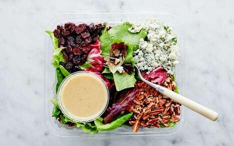 Seasonal Blue Cheese Salads