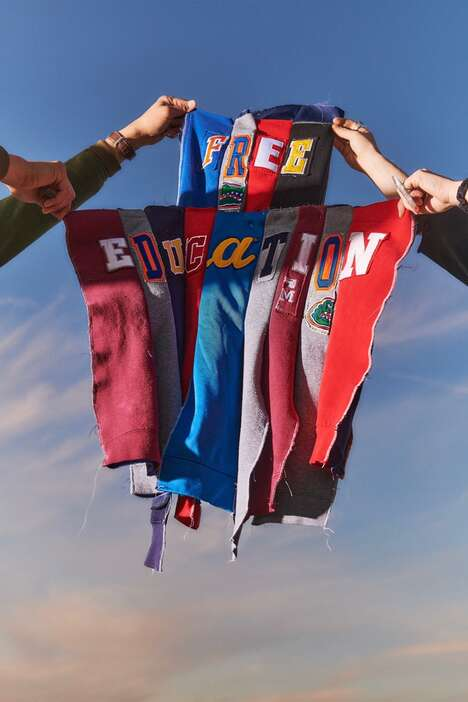Student Debt Clothing Lines