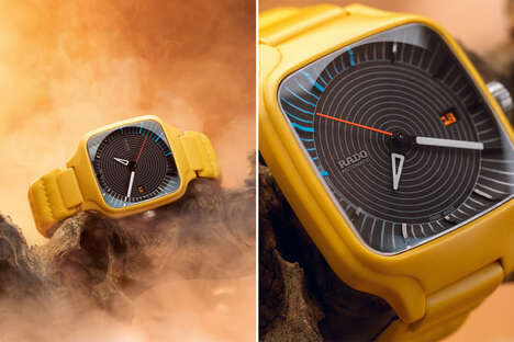 Special-Edition Yellow Timepieces