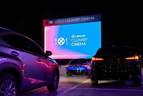 Culinary Drive-In Cinemas