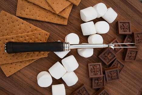 Gothic Marshmallow Skewers