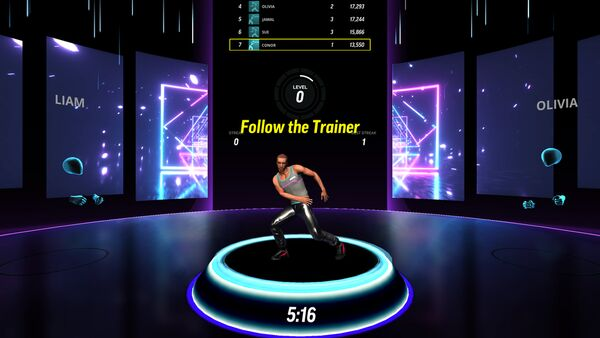 Gamified Virtual Fitness Studios