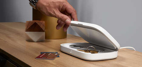 Sanitizing Wireless Chargers