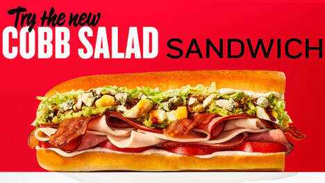 Salad-Inspired Sandwiches