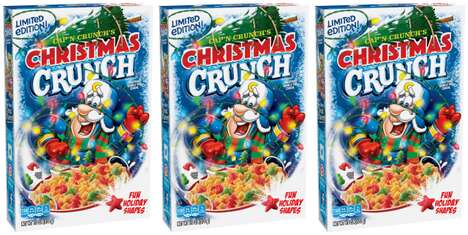 Festively Themed Breakfast Cereals