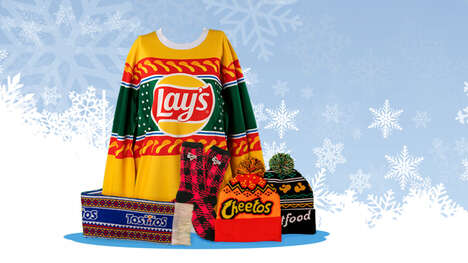 Snack-Branded Ugly Sweaters