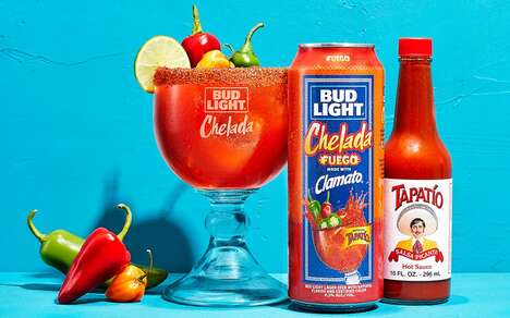 Spicy Canned Michelada Cocktails