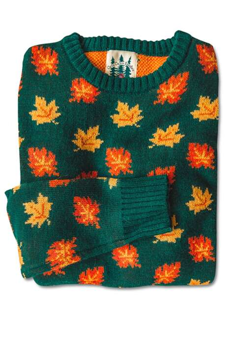 Retro-Themed Autumnal Sweaters