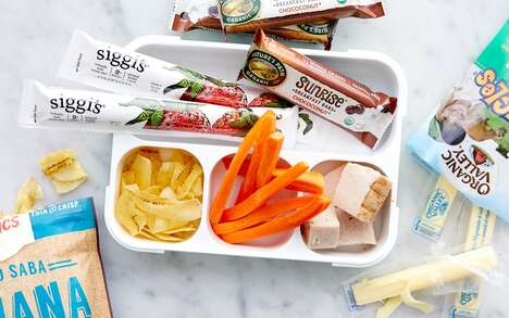 Protein-Packed Kid's Lunch Kits