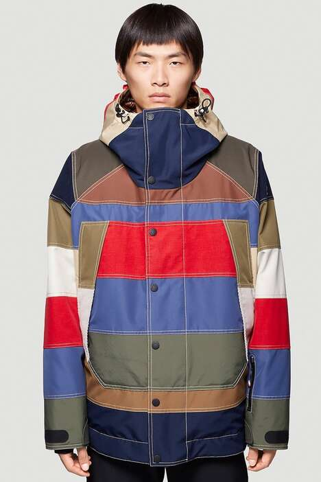 Colorblocking Vintage Luxe Coats
