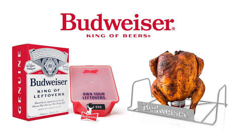 Beer-Branded Holiday Dinner Merch