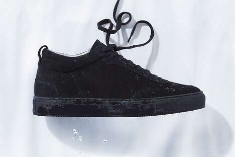 Weatherized Suede Sneakers