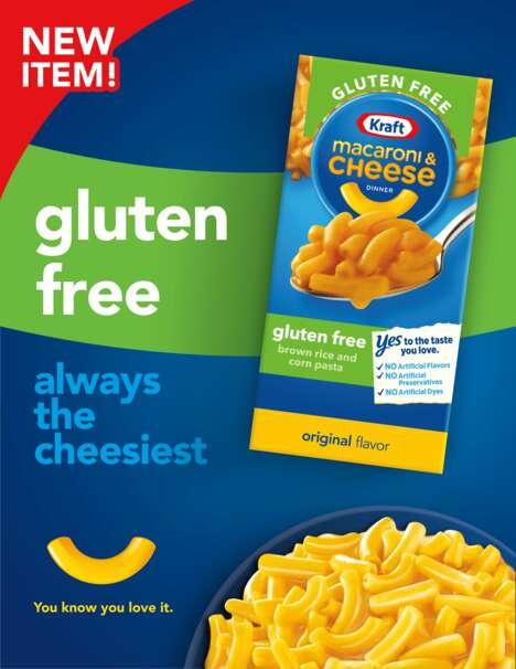 Gluten-Free Cheesy Pastas