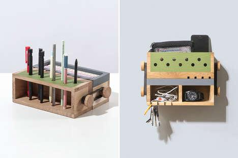 Multifunctional Timber Organizers