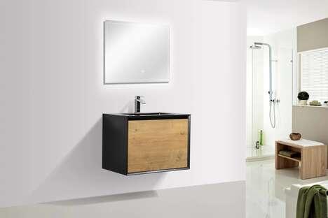 Premium Wall Mount Bathroom Vanities