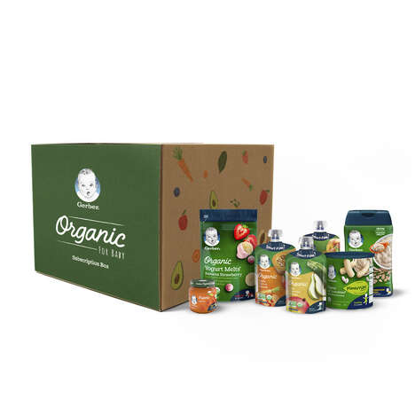 Curated Baby Food Subscriptions