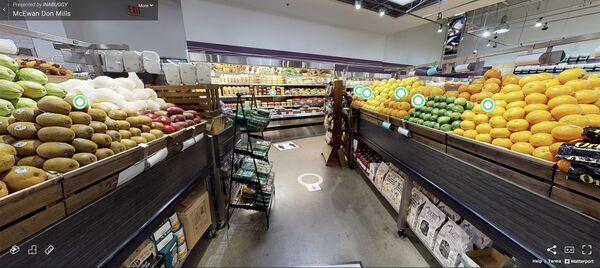 3D Virtual Grocery Shops
