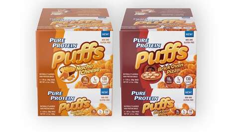 Protein-Packed Snack Puffs