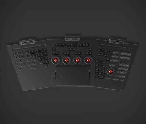Sleek Digital Editor Panels