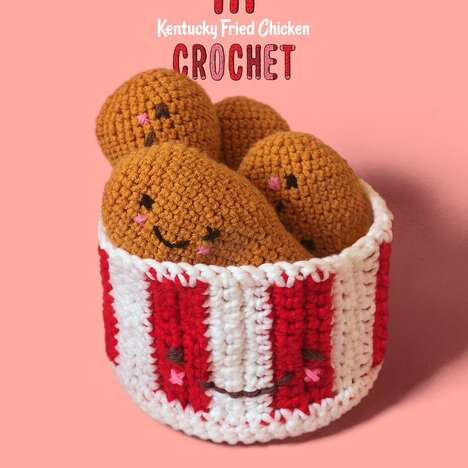 Chicken Chain Crochet Crafts