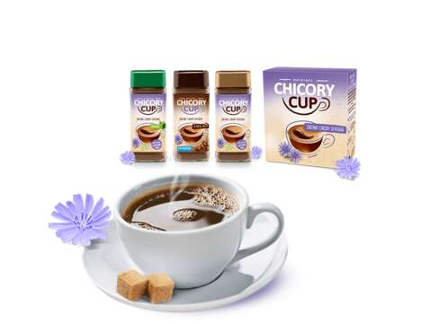 Chicory Root Coffee Substitutes