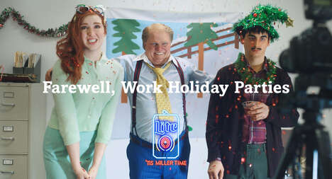 Hilarious Anti-Work Holiday Party Ads