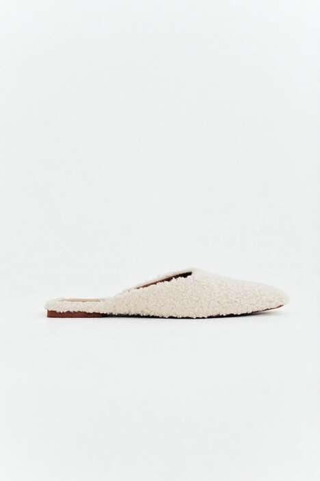 Textured Designer-inspired Mules