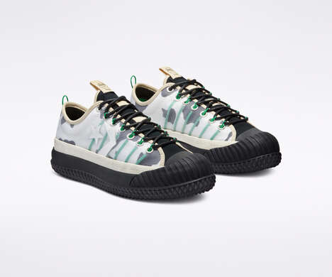 Elevated Cow Print Sneakers