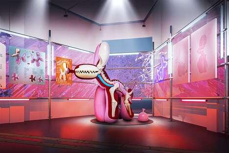 Anatomical Art Toy Exhibits