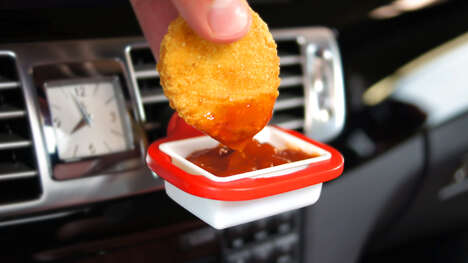 In-Car Dip Holders