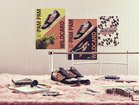 Leopard Print Hybrid Sneakers