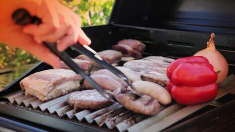 Easy-Cleaning BBQ Grill Grates