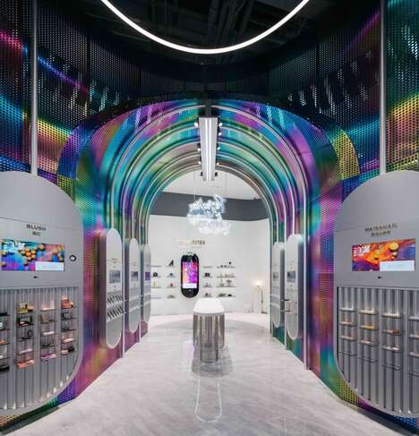 Interactive Beauty Retail Spaces