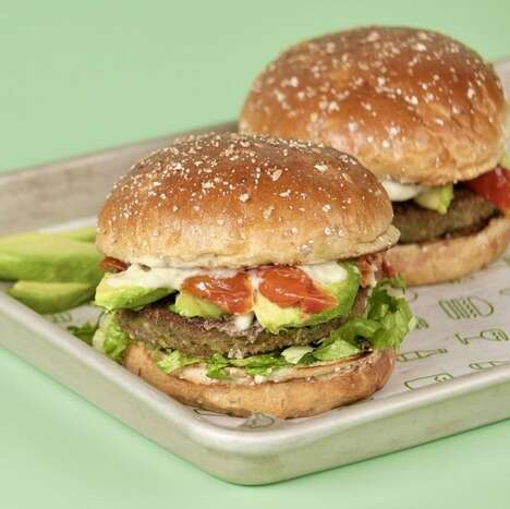 Leafy Green-Infused Burgers