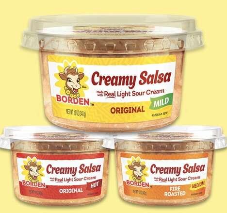 Creamy Hybrid Salsas