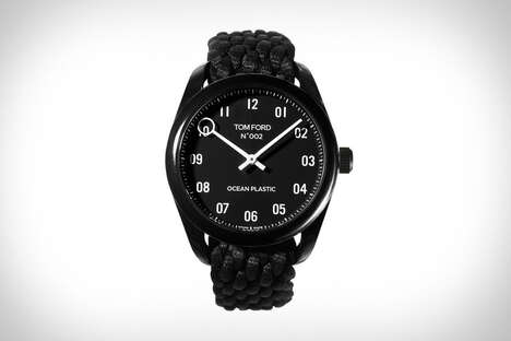 Luxurious Ocean Plastic Timepieces