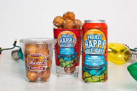 Donut-Flavored Festive Beers