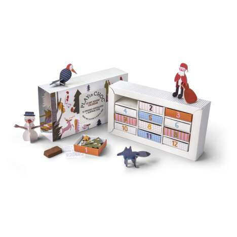 Eco Chocolate Advent Calendars