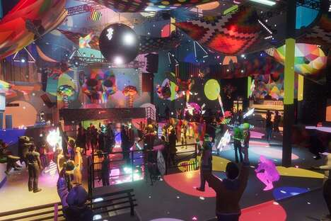 Immersive VR Nightclubs