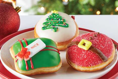Holiday-Inspired Gift Doughnuts
