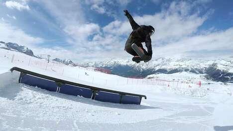 Compact Winter Sports Equipment